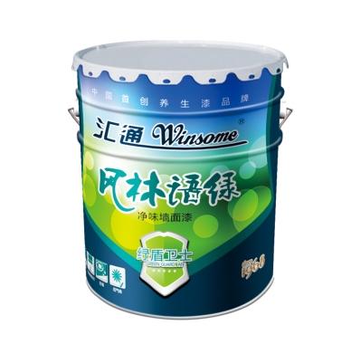 风林绿语净味墙面漆