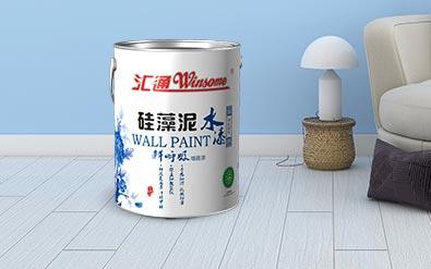 硅藻泥水漆 鲜呼吸墙面漆